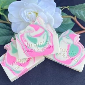 White Magnolia Bar Soap