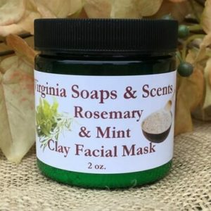 Rosemary & Mint Clay Mask