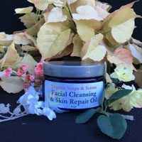 Facial Cleansing and Skin Repair Oil