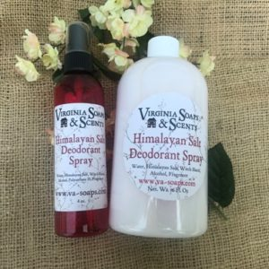 Himalayan Salt Deodorant Spray